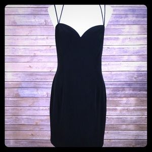 Dresses & Skirts - Vintage strappy sexy cocktail party dress